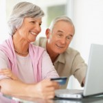 older people shopping online