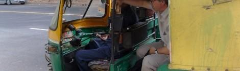 indian taxi motorbike