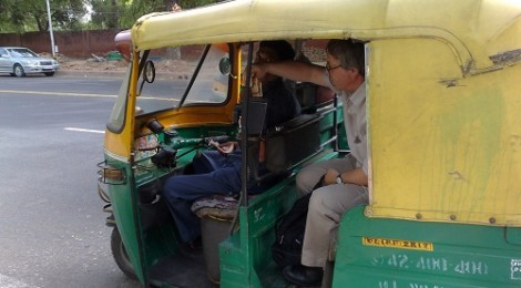indian taxi motorbike