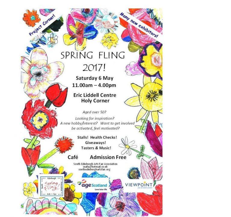 spring fling 2017 poster