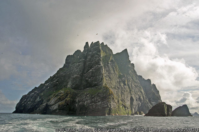 the island of St Kilda